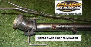 Mazda 5 and 6 DPF Eliminator