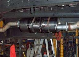 diesel exhaust truck - dpf problems